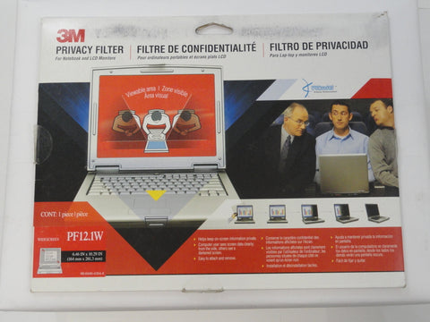 "3M 12.1"" Privacy Filter for Laptops & LCD Screens"