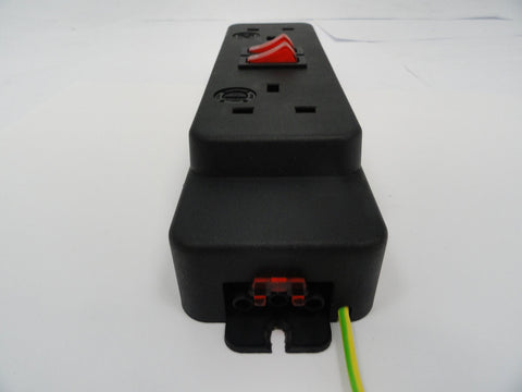 OPS Inline Two Way UK Switched Power Distributor