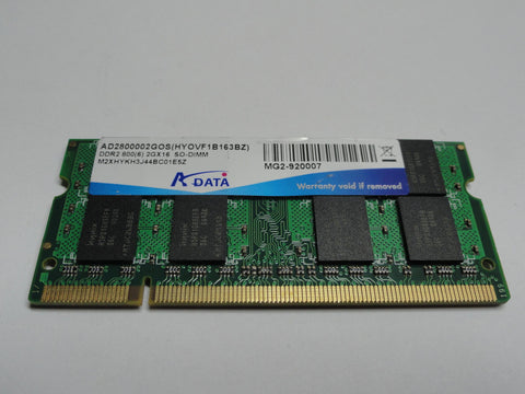A-Data 2Gb 200 Pin PC2-6400 DDR2-800 SO-DIMM