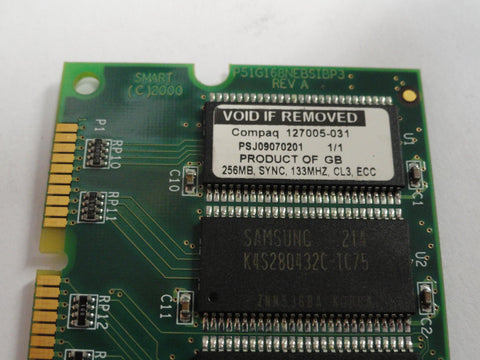 Compaq 256Mb PC133 ECC CL3 SDRAM DIMM