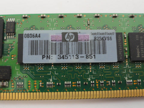 Hynix 1Gb PC2-3200 Registered ECC Memory