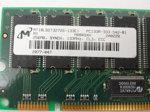 Micron 256Mb PC133R 133MHz CL3 ECC RAM