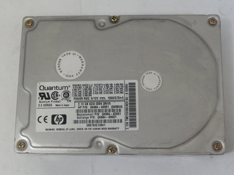 Quantum 2.1GB SCSI 50 Pin 3.5in HDD