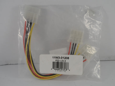 "8"" Internal DC Y Power Splitter Cable"