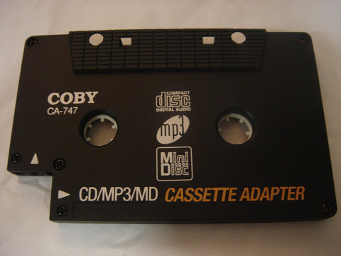 Coby MP3/CD/MD Cassette Adapter