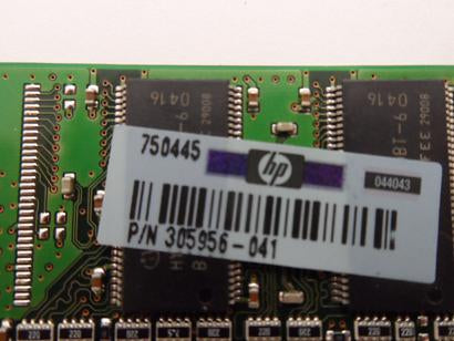 HP/Infineon 128MB PC2700 DDR-333MHz 184-Pin DIMM