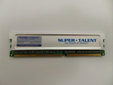 Super Talent 512MB PC2100 DDR-266MHz 184-Pin DIMM