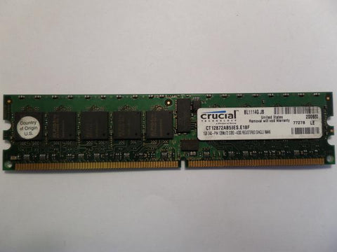 Crucial 1GB DDR2 PC2-4200 ECC Registered DIMM