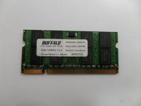 Buffalo 2GB PC2-4200S 444 10 E2 DDR2 SODIM