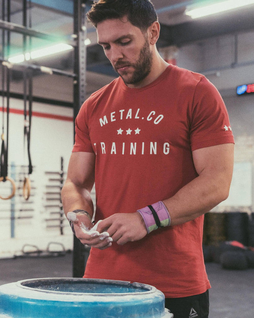 Metal.Co Training Tee [Racing Red]