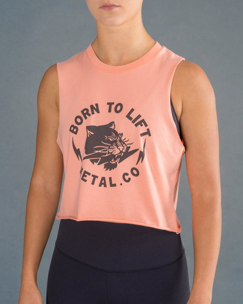 'Born To Lift' Tank [Pink]** Sold Out**