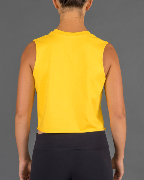 'Born To Lift' Tank [Yellow]