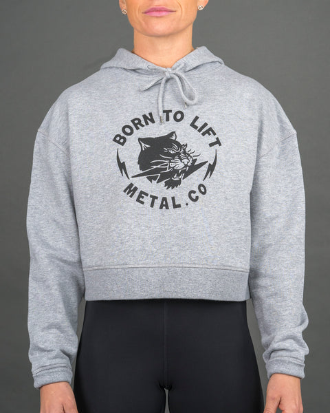 Born To Lift Cropped Hood