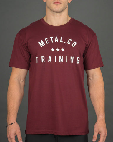 Metal.Co Training Tee [Burg]