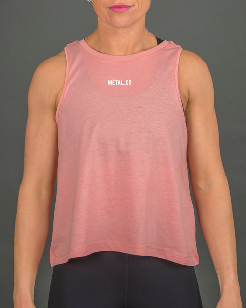 Ladies 'Core' Tank [Light Coral]