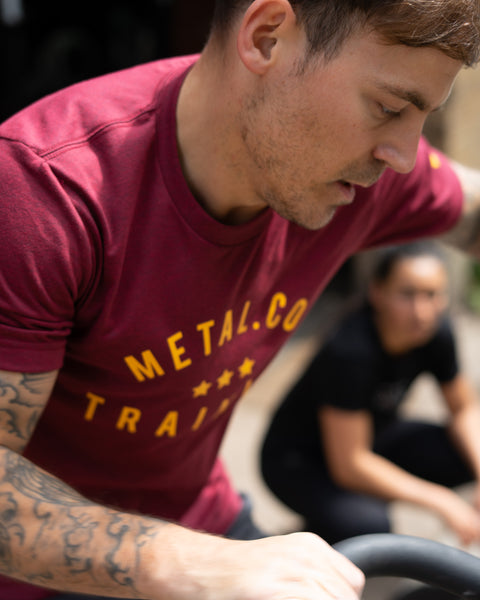 Metal.Co Training Tee [Red]