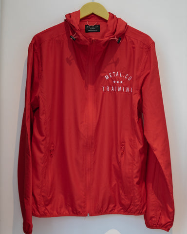 Metal.Co. 1 x Medium Red Training Jacket