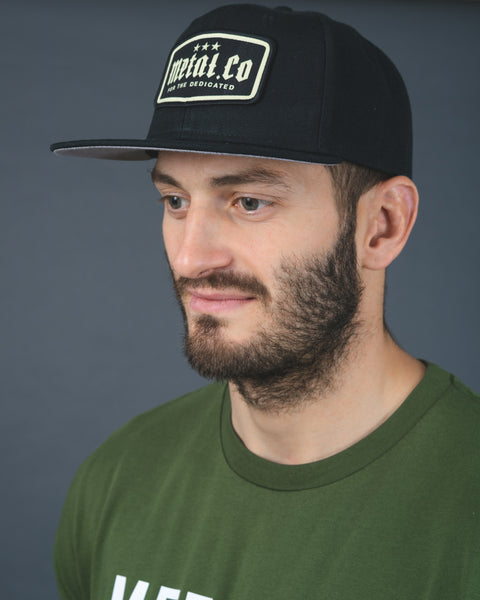 For The Dedicated Snapback [Black]