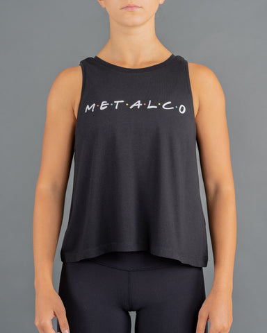 Friends Ladies Tank [Black]