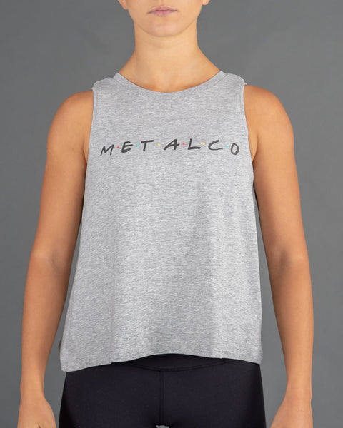 Friends Ladies Tank [Grey]
