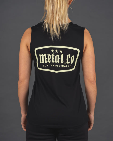 For The Dedicated - Ladies Tank [Black]