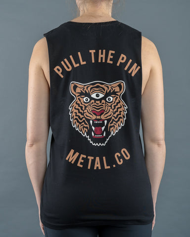Pull The Pin - Ladies Tank.