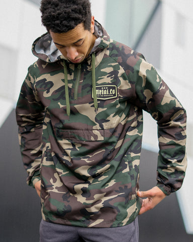 Camo Badge Jacket