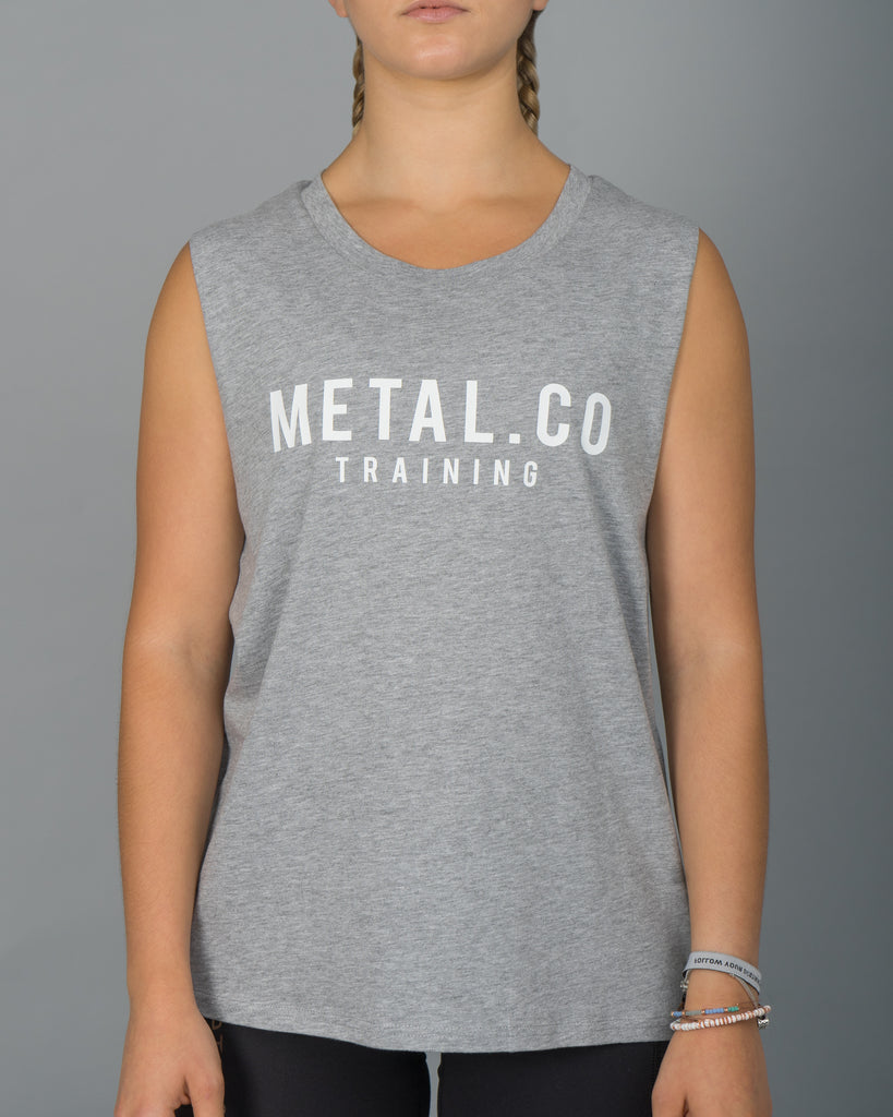 Metal.Co Training - Ladies Tank [Grey]