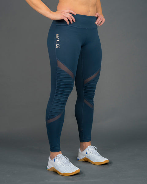Flex Leggings (Teal) *Large Only*