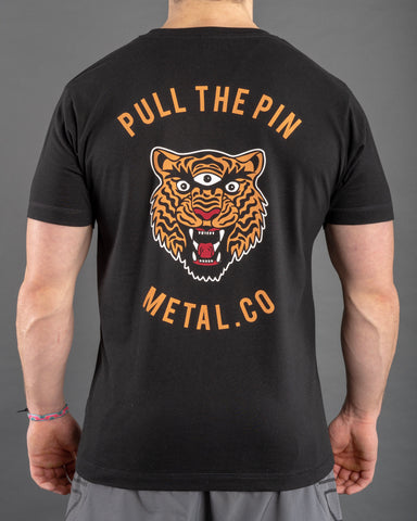 Pull The Pin - Graphic Tee [2 Small / Medium Left]
