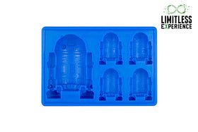 Star wars ice cube mold(Flight, blue)