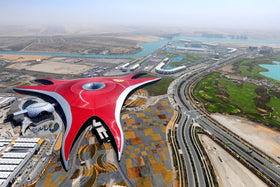 Dubai: Transfers + City Tour + Dhow Cruise + Desert Safari + Abhu Dhabi Tour with Ferrari World
