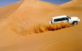 Dubai: Transfers + City Tour + Burj Khalifa + Desert Safari