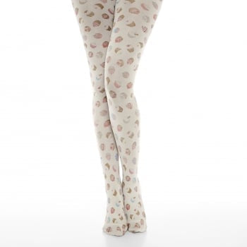 Lindy Bop Teenie Cream Cupcake Tights