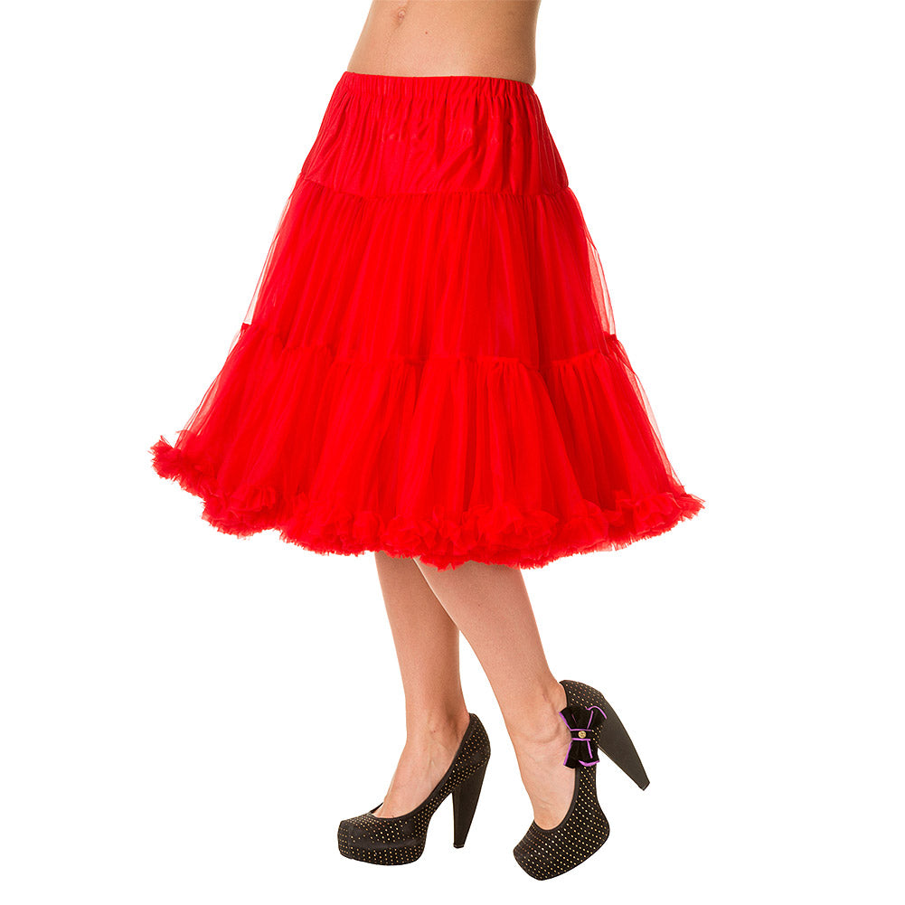 Banned Starlite Petticoat 'Red'