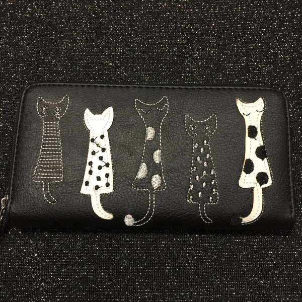 Black Cat Purse