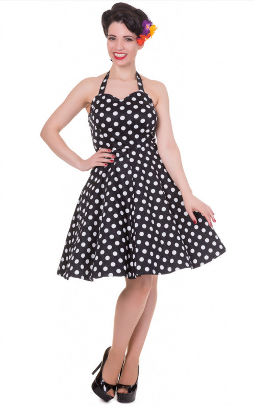 Dolly and Dotty Marilyn Polka Dot Dress