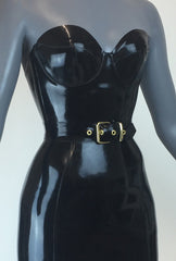 Waist Belt Black + Gold