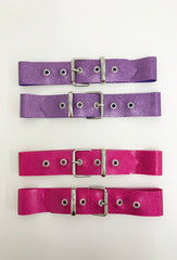 Glitter Buckle Thigh Straps