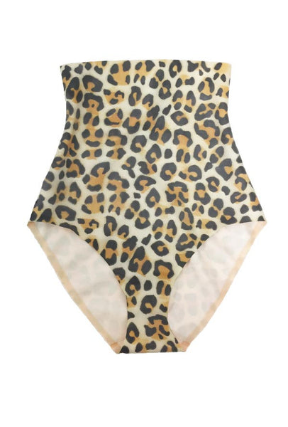 Leopard High Waisted Hot Pants