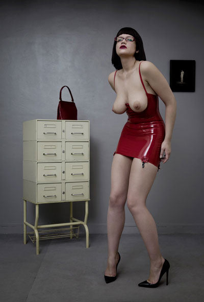 Cupless Suspender Dress