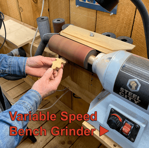 using the flex drum sander