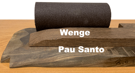 Wenge and Pau Santo