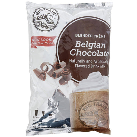 Big Train - Belgian Chocolate - 3.5 lb