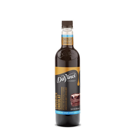 Da Vinci Syrup - SUGAR FREE - Chocolate - PET