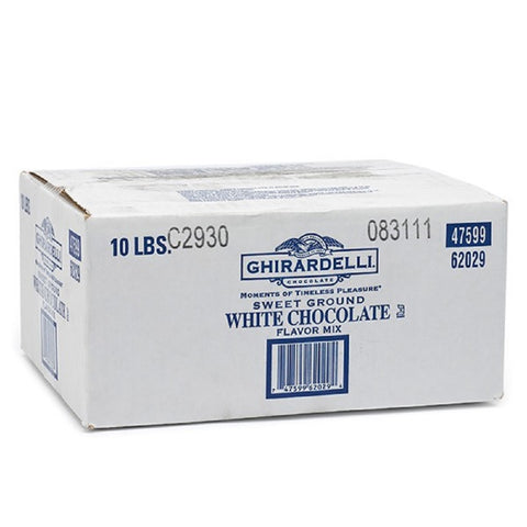 Ghirardelli - Sweet Ground White Chocolate - 10 lb