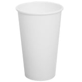Karat - 16oz  White Hot Cups- C-K516WU - Case of 1000 - Charlie Bean
