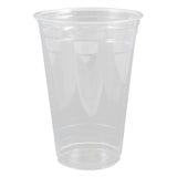 Karat - 20oz  Clear PET Cups - C-KC20U - Case of 1000 - Charlie Bean