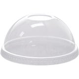 Karat - Domed Lids for 12-24oz PET Cup - C-KDL626 - Case of 1000 - Charlie Bean
