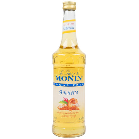 Monin Syrup - SUGAR FREE - Amaretto